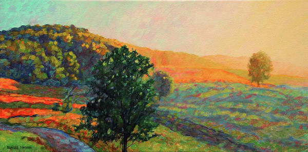 Wall Art - Painting - New Every Morning - Rocky Gap Sunrise by Bonnie Mason