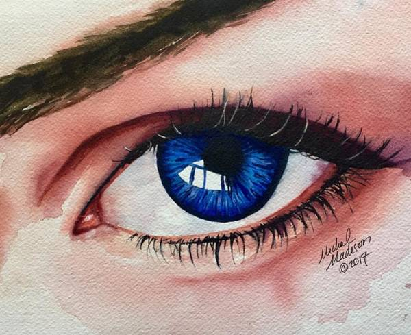 Painting - New Eyes by Michal Madison