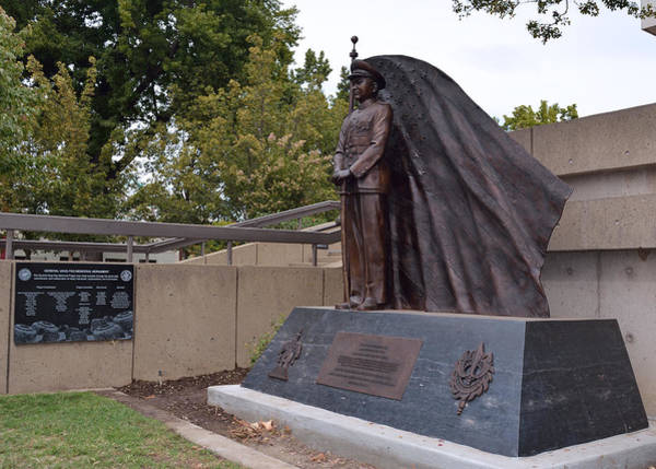 Photograph - New General Vang Monument In Autumn 2015 by James Warren