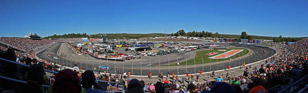 Photograph - New Hampshire Motor Speedway by Juergen Roth