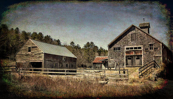 Photograph - New Hampshire Old Barn  by Betty Pauwels
