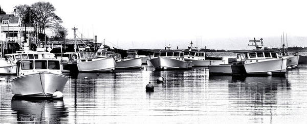 Lobster Photograph - New Harbor Impression by Olivier Le Queinec