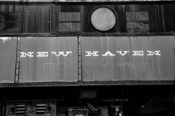 Rr Photograph - New Haven Rr by Karol Livote