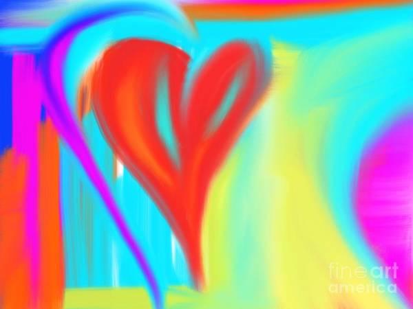 Digital Art - New Heart by Jessica Eli