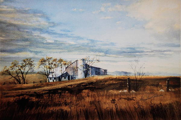 Upstate New York Painting - New Hope New Dreams by Hanne Lore Koehler