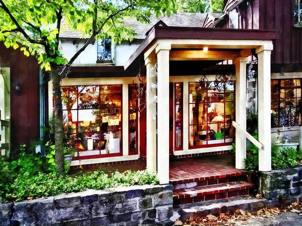 Photograph - New Hope Pa - Craft Shop by Susan Savad