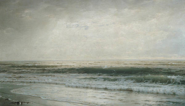 Wall Art - Painting - New Jersey Beach by William Trost Richards
