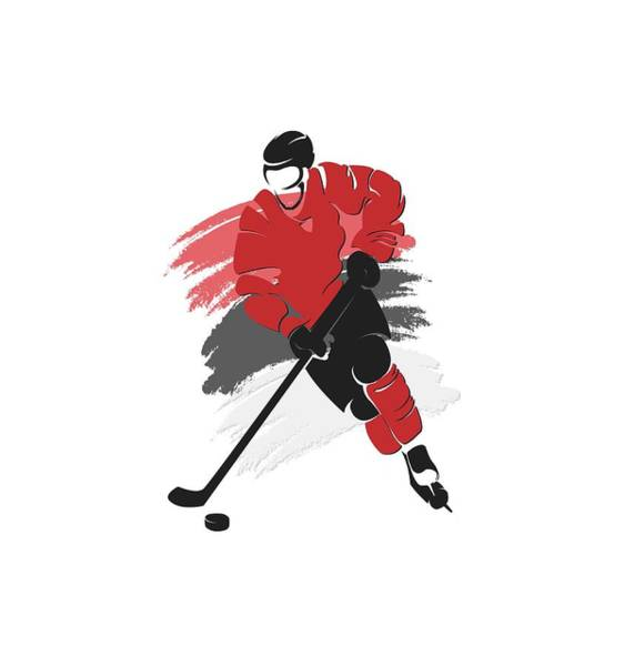 Wall Art - Photograph - New Jersey Devils Player Shirt by Joe Hamilton
