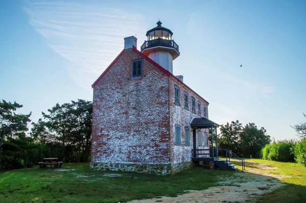 Wall Art - Photograph - New Jersey - East Point Lighthouse by Bill Cannon
