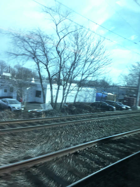 Photograph - New Jersey From The Train 4 by Tony Rubino
