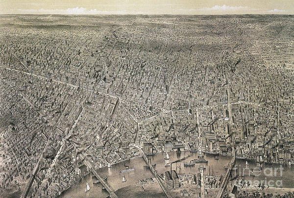 Drawing - New Jersey, Newark, C1874.  by Granger