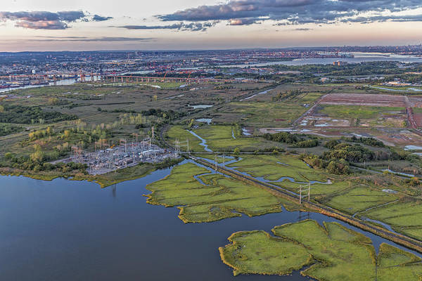 Photograph - Staten Island Ny Aerial View by Susan Candelario