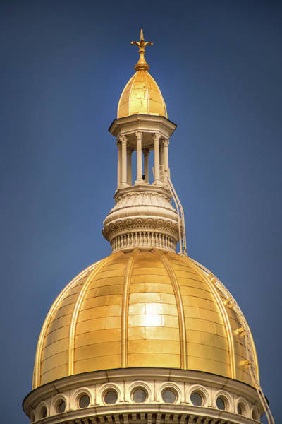 Photograph - New Jersey Statehouse by Don Johnson