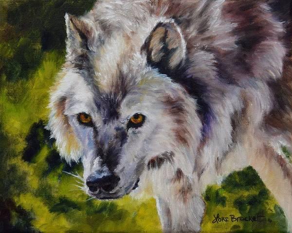 Painting - New Kid On The Block by Lori Brackett