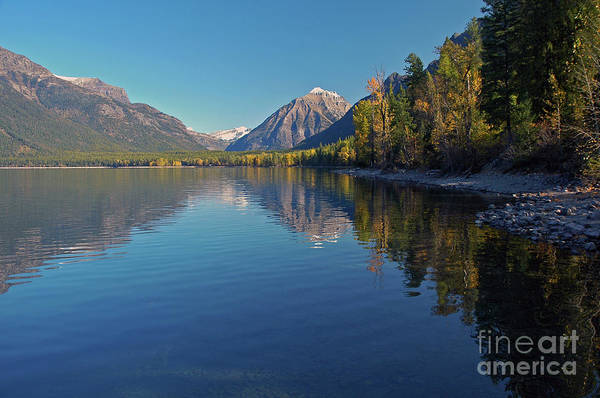 Photograph - New Lake Mcdonald In September by Cindy Murphy - NightVisions