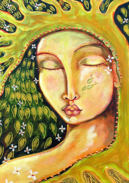 Wall Art - Painting - New Life by Shiloh Sophia McCloud