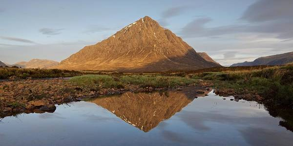 Photograph - New Light In Glencoe by Stephen Taylor