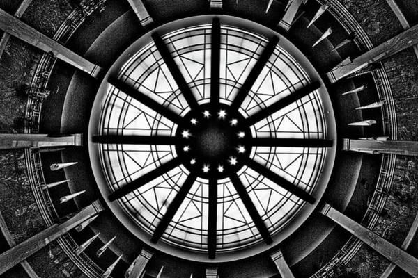 Photograph - New Mexico Capitol Skylight #2 by Stuart Litoff