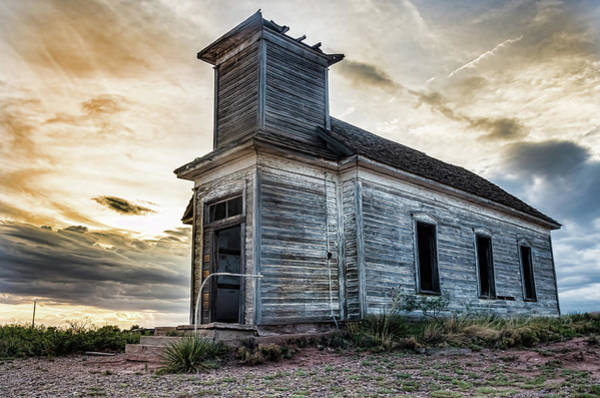 Photograph - New Mexico Church #3 by Adam Reinhart