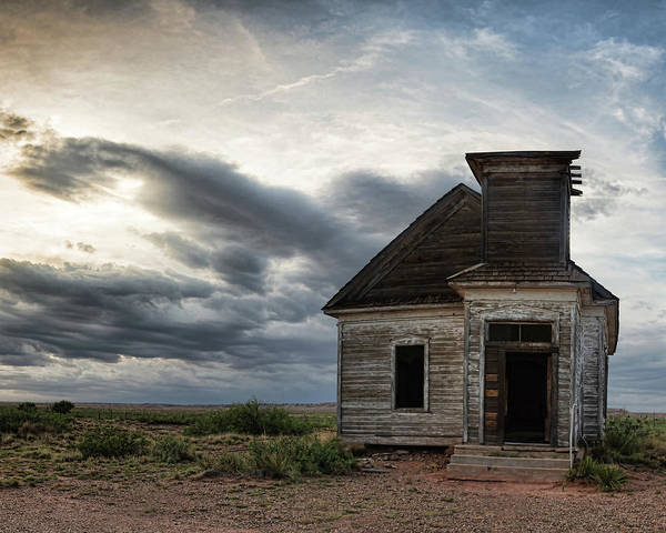 Photograph - New Mexico Church by Adam Reinhart