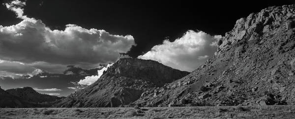 Wall Art - Photograph - New Mexico Landscape B W by Steve Gadomski