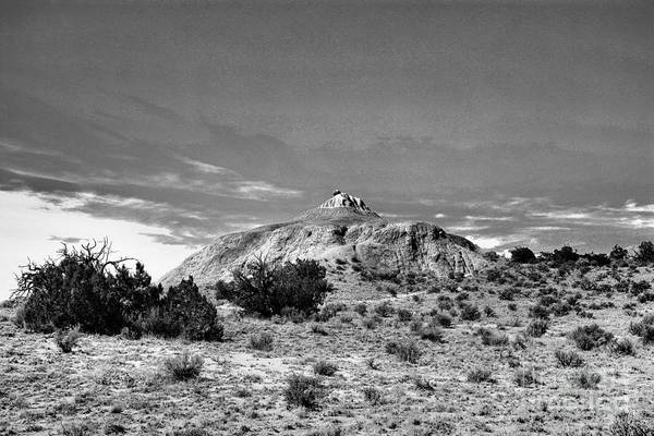 Land Of Enchantment Photograph - New Mexico Landscape Black And White by Jeff Swan