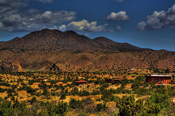 Wall Art - Photograph - New Mexico Landscape by David Patterson