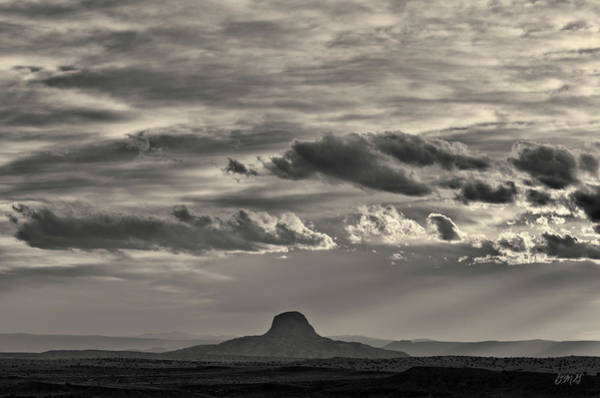 Photograph - New Mexico Landscape Toned by David Gordon