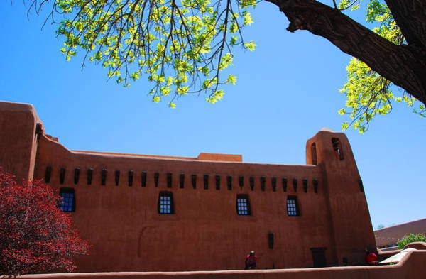 Photograph - New Mexico Museum Of Art by Susanne Van Hulst