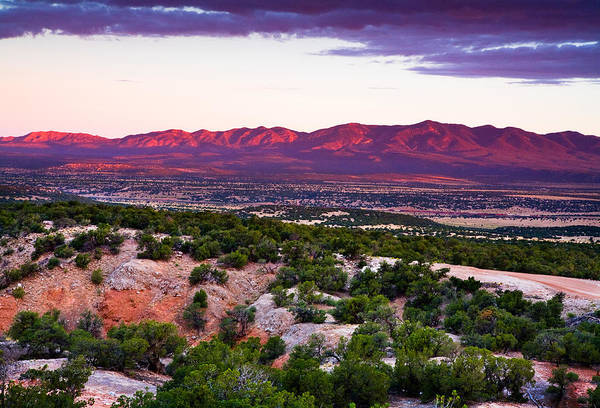 New Mexico Photograph - New Mexico Sunset by Matt Suess