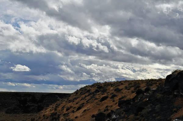 Photograph - New Mexico Volcanic Landscape by Kyle Hanson