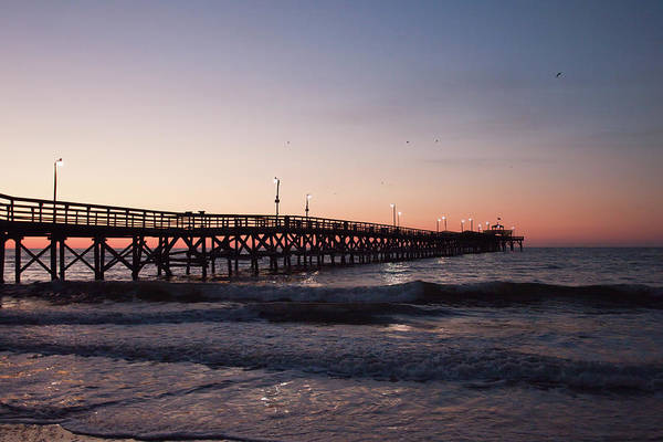 Photograph - New Moon Pier by Ree Reid
