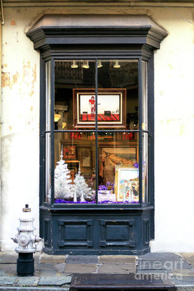 Photograph - New Orleans Art In The Window by John Rizzuto