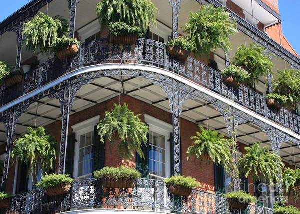 Photograph - New Orleans Balcony by Carol Groenen