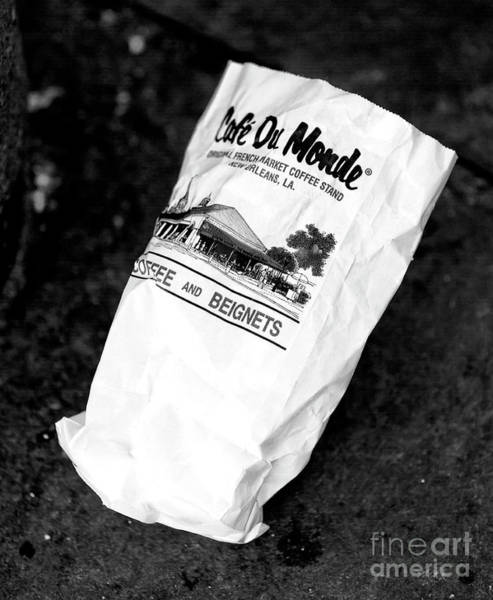 Wall Art - Photograph - New Orleans Beignets In The Bag by John Rizzuto