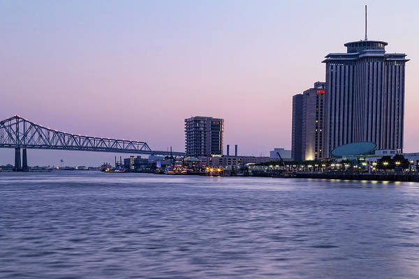 Photograph - New Orleans Blue Hour by Kay Brewer
