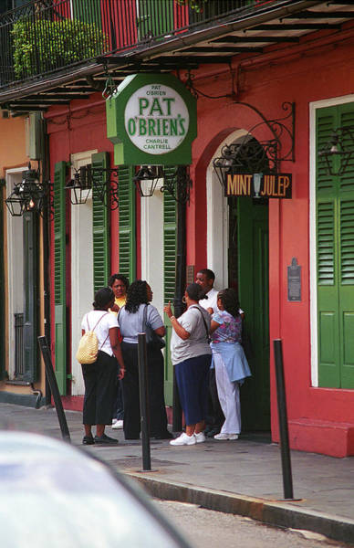 Photograph - New Orleans Bourbon Street 2004 #44 by Frank Romeo