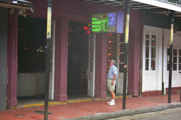 Photograph - New Orleans Bourbon Street 35 by Frank Romeo