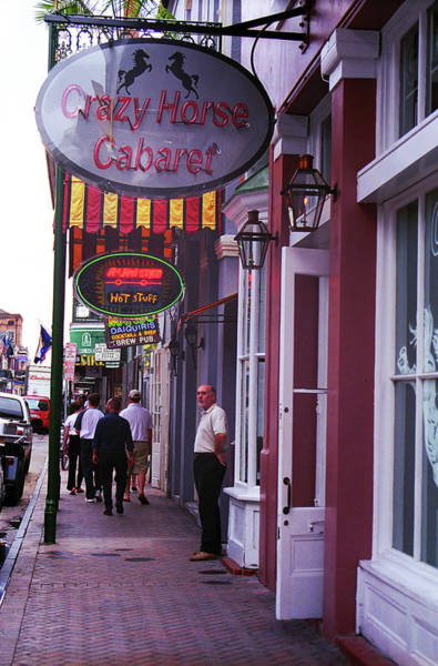 Photograph - New Orleans Bourbon Street 42 by Frank Romeo