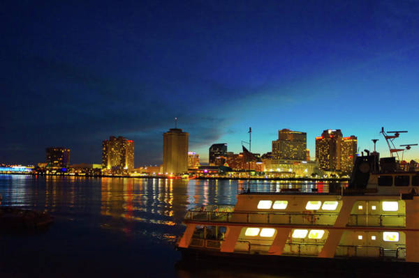 Wall Art - Photograph - New Orleans Downtown Skyline by Art Spectrum