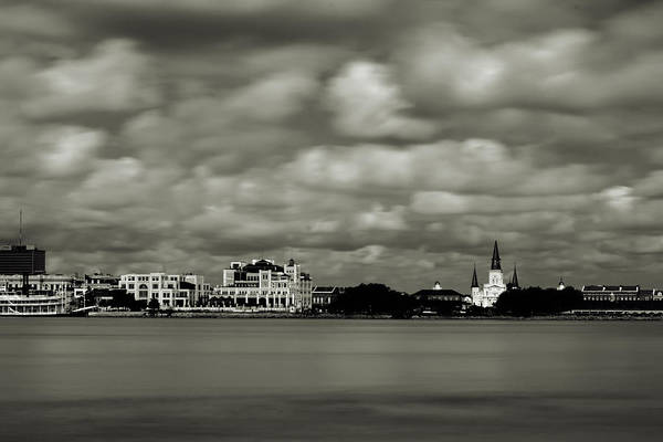 Photograph - New Orleans From Algiers Point - In Quadtone by Chris Coffee