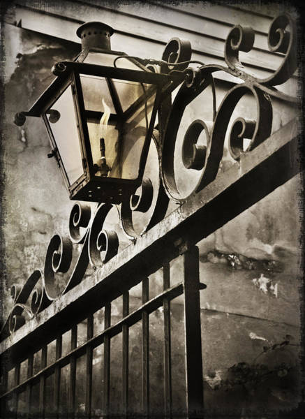 New Orleans Photograph - New Orleans Gaslight by Beth Riser