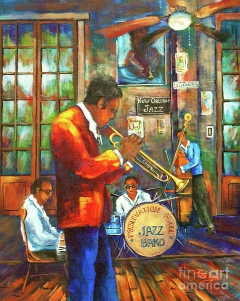 Painting - New Orleans Jazz by Dianne Parks