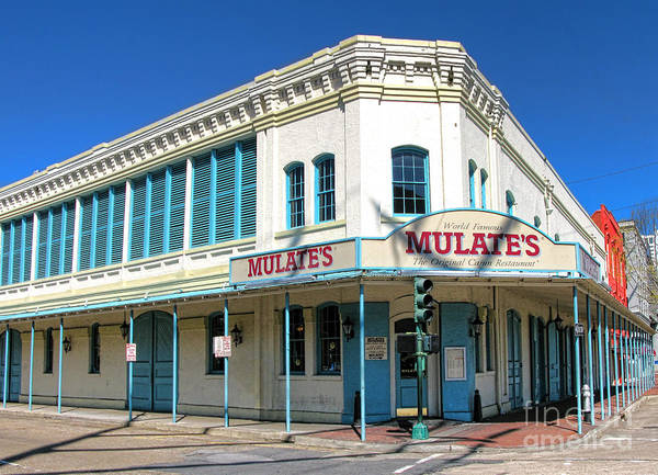 Wall Art - Photograph - New Orleans Mulate's by Olivier Le Queinec