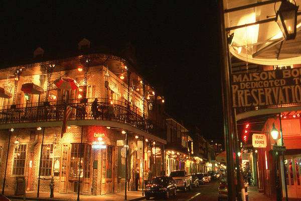 Photograph - New Orleans Jazz Night by Peter Potter