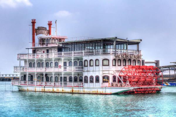 Wall Art - Photograph - New Orleans Paddle Steamer by David Pyatt
