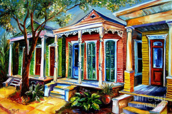 Wall Art - Painting - New Orleans Plain And Fancy by Diane Millsap