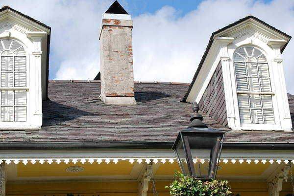 Wall Art - Photograph - New Orleans Roof Lines by Armand Hebert
