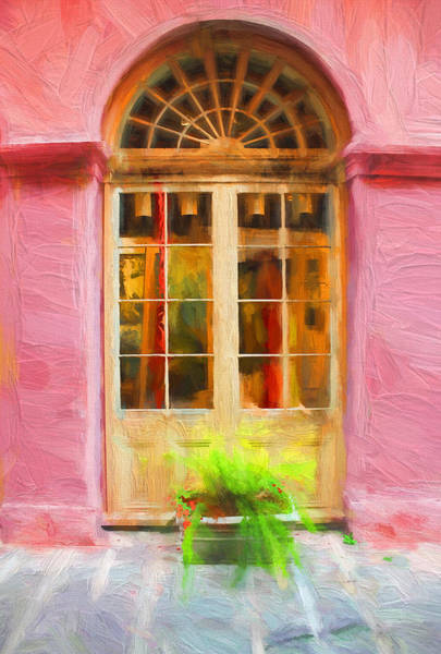 Photograph - New Orleans Doorway - New Orleans Series 55 by Carlos Diaz