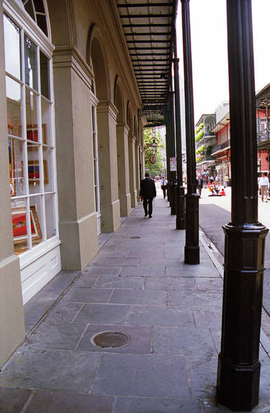 Photograph - New Orleans Sidewalk 2004 by Frank Romeo